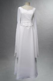 Schitterende Keltische bruidsjurk GG006