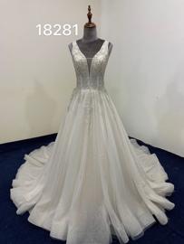 Bruidsjurk glinster 18281