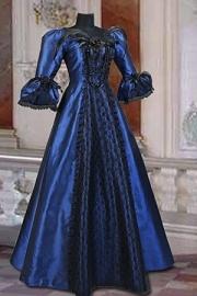 Victoriaanse jurk BL76