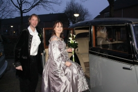 Huwelijk Claudy en Johan