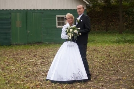 Huwelijk Tamara en Anneke met hun mannen 3