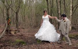 Huwelijk Anneke en Rob.