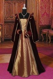 Renaissance/Tudor jurk R124