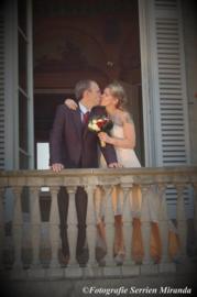 Huwelijk Cindy en Geert.