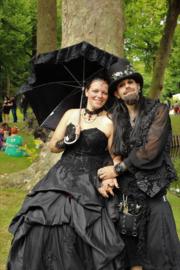 Caroline en Jimmy Elftopia Deinze Belgie.