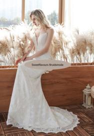Bruidsjurk Bohemian stijl 4192