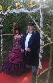 Huwelijk Janin en Erwin.