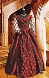 Renaissance jurk 132