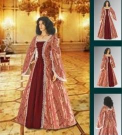 Renaissance jurk 131