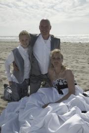 Huwelijk Ilja en haar man