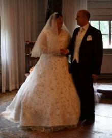 Huwelijk Shahin en Peter