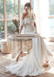 Bruidsjurk in Bohemian stijl 4176