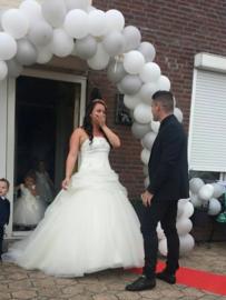 Huwelijk Deborah en haar man Stef.