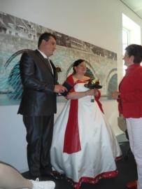 Huwelijk Uschi en Gerrie