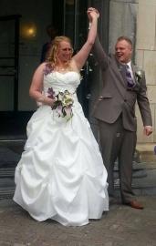 Huwelijk Wanda en Roy