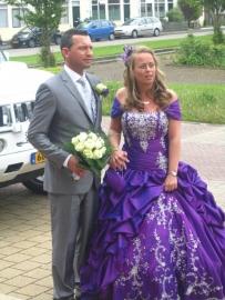 Huwelijk Esther en Mike