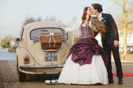 Huwelijk Willemijn en haar man