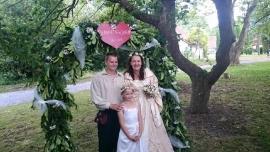 Huwelijk Jeannette en Jorn