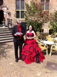 Huwelijk Karin en haar man 2.