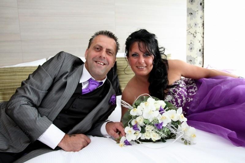 Huwelijk Bianca en John.2