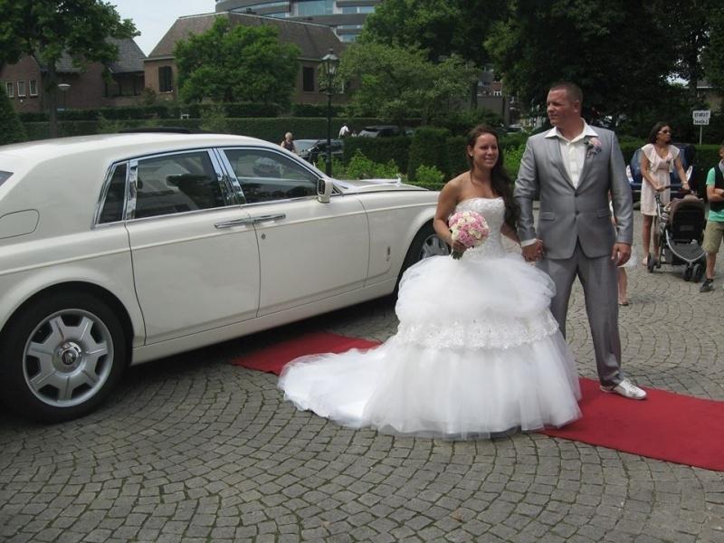 Huwelijk Nathalie en haar man