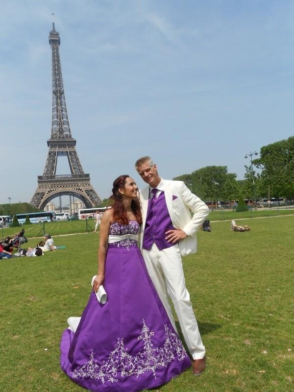 Huwelijk Sandra en Jeroen Parijs