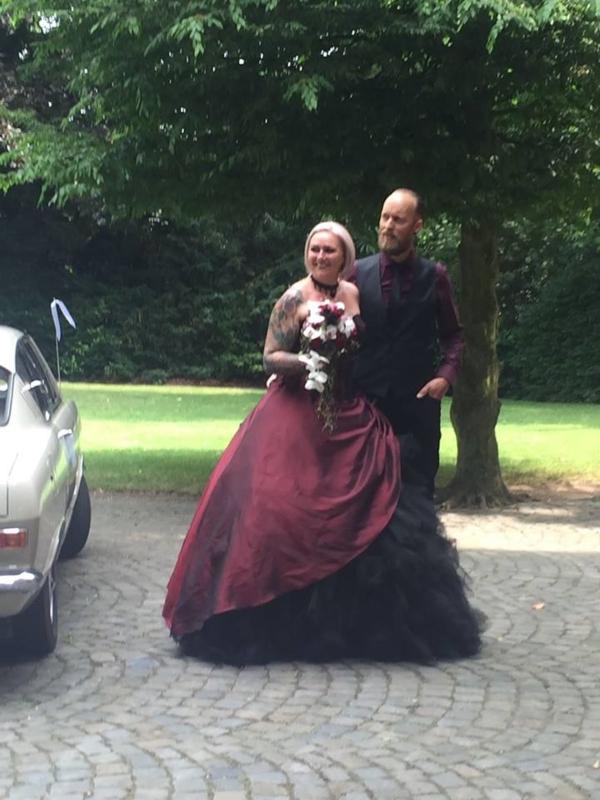 Huwelijk Melissa en Gert.