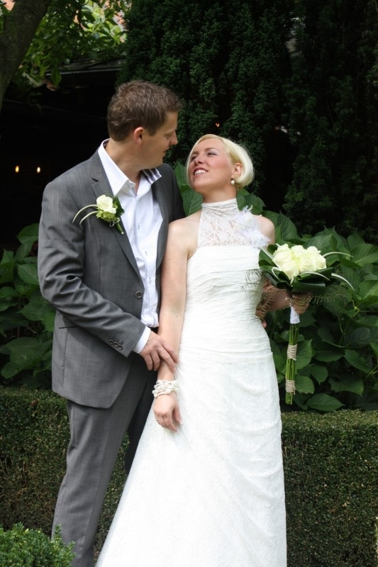 Huwelijk Wendy en Dirk
