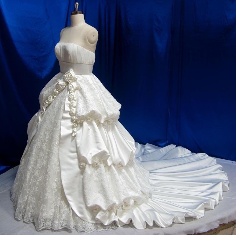 Baroque bruidsjurk YRM03