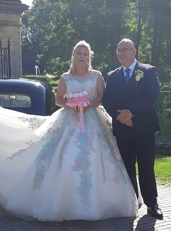 Huwelijk Renate en René