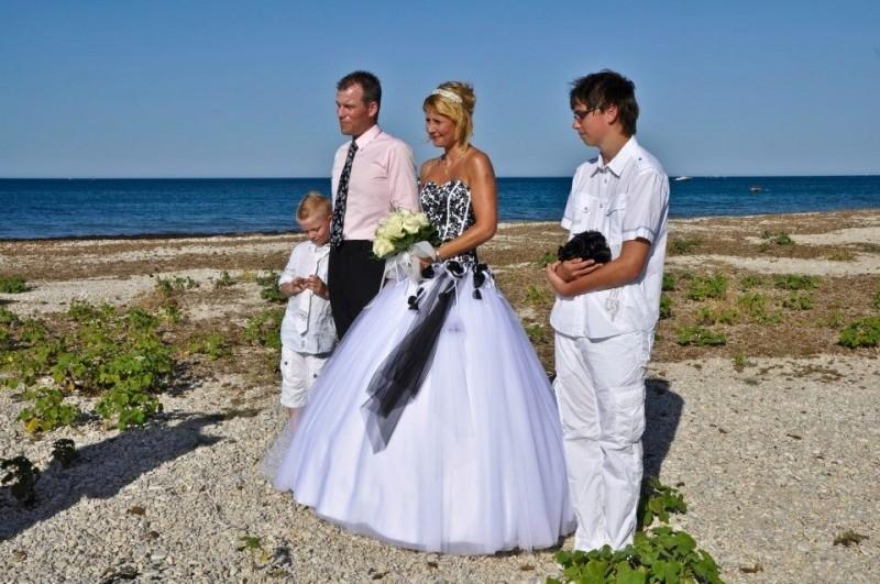 Huwelijk Monique en Stephan