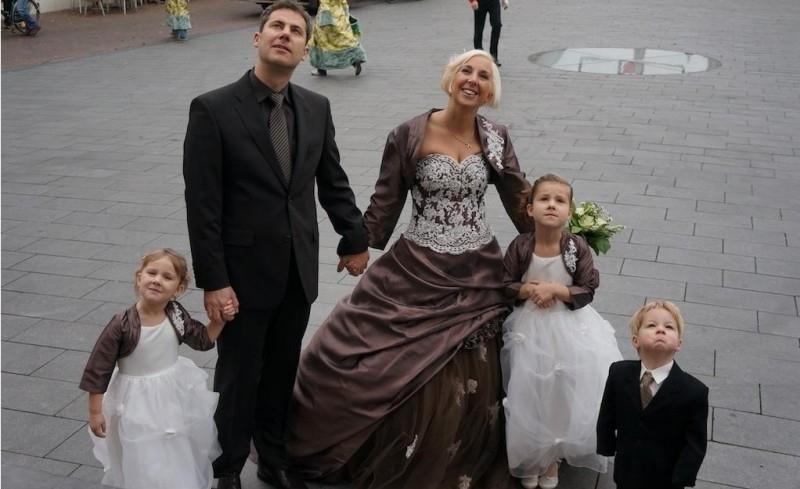 Huwelijk Leonore en Arno