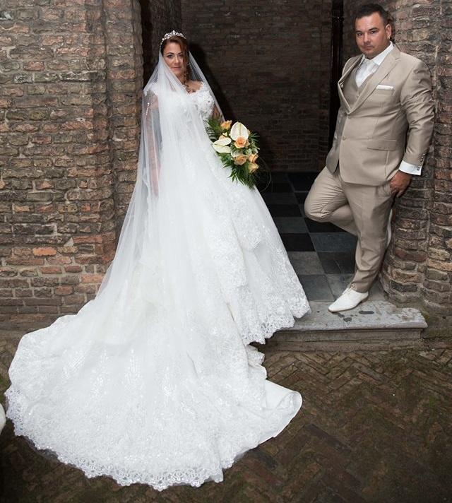 Huwelijk Claudia en Willem