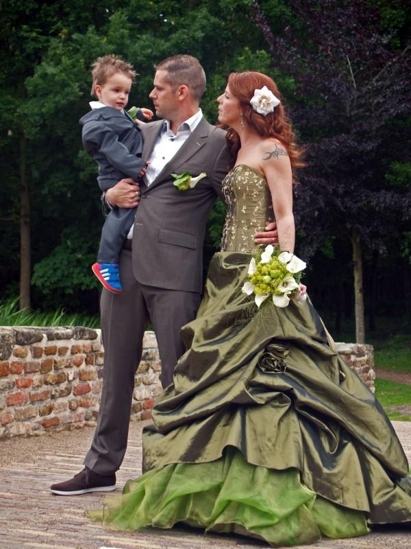 Huwelijk Laura en Walter.