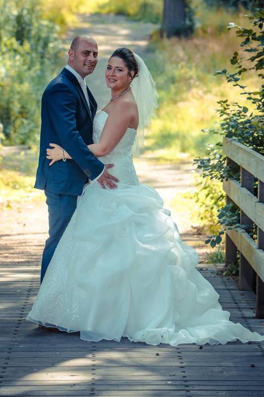 Huwelijk Sharon en Roel.
