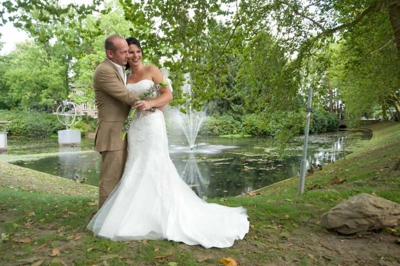 Huwelijk CHantal en Rene.