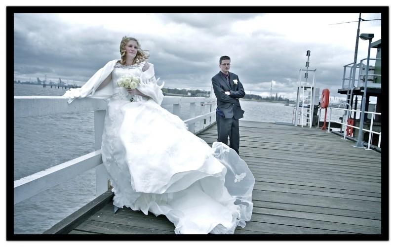 Huwelijk Vicky en haar man