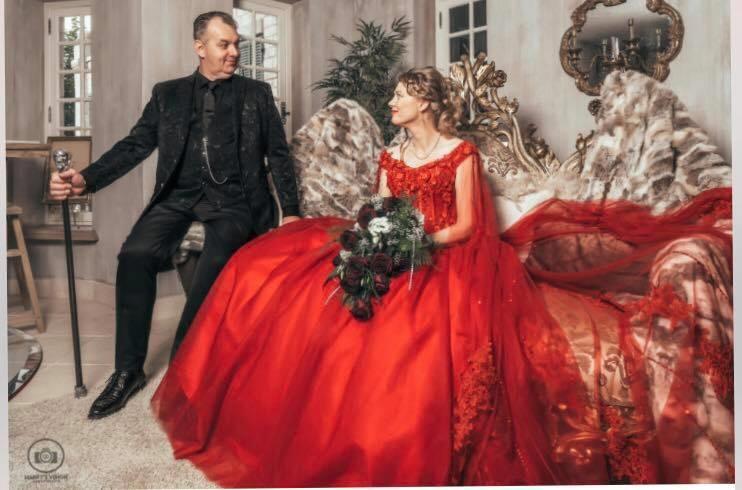 Huwelijk Andrea en Kees.