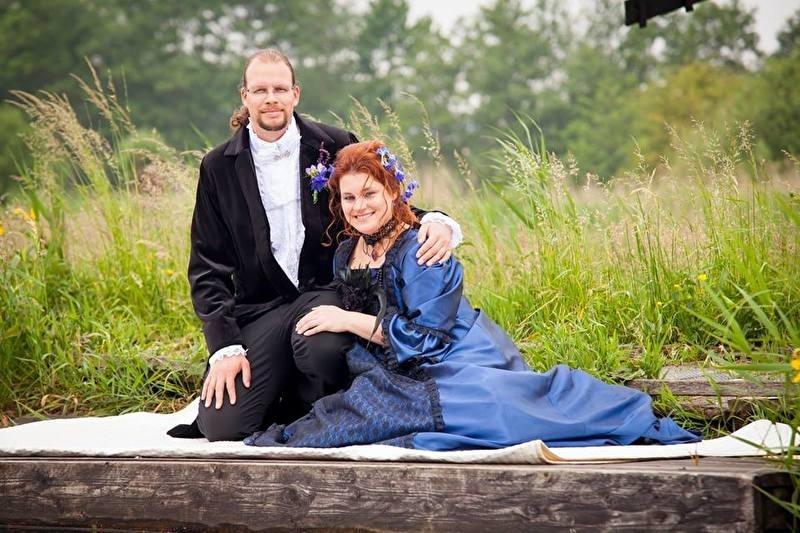 Victoriaans huwelijk Leandra en Maarten