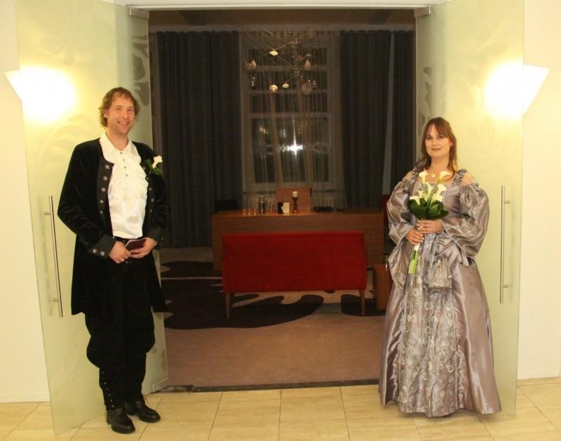 Huwelijk Claudy en Johan 2