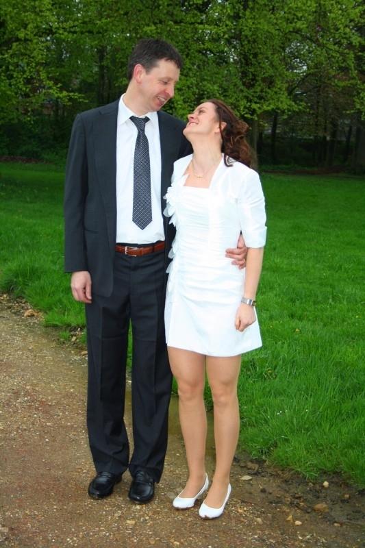 Huwelijk Ria en haar man