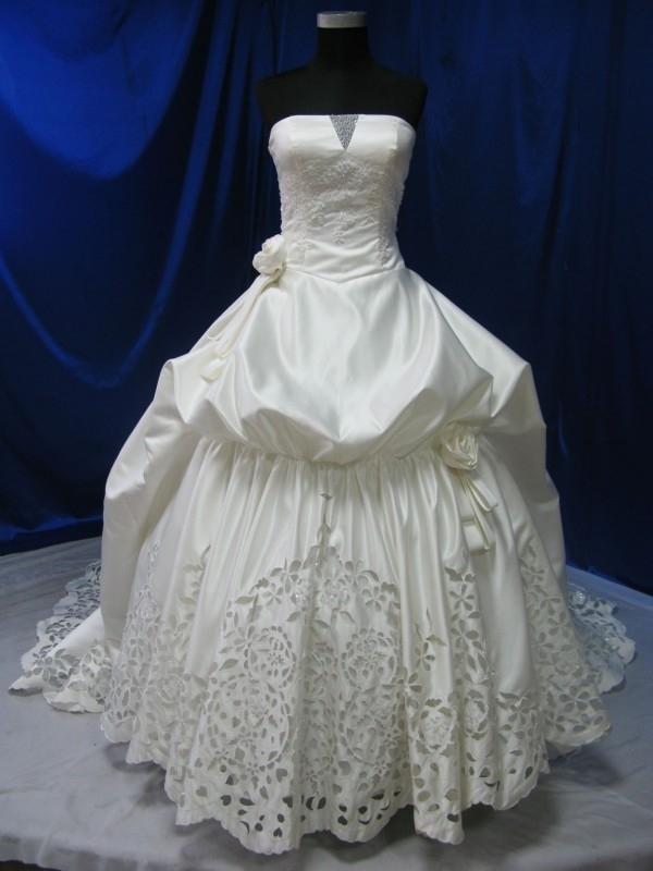 Baroque bruidsjurk 38A!