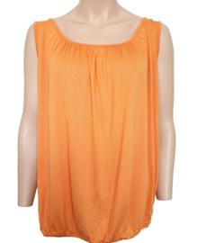 Mouwloze top / hemd oranje