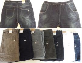 Karostar jeans in 5 kleuren maat 38 t/m48 (zonder knopen)