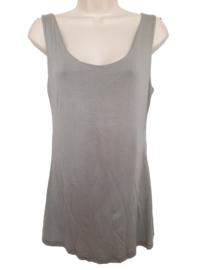 Gevoerd stretch hemd, kleur taupe