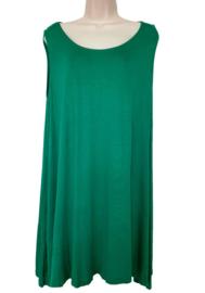 Lang hemd, grote maat, kleur groen