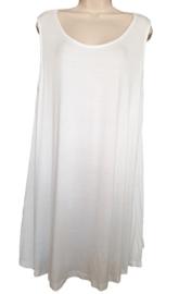 Lang hemd, grote maat, kleur wit