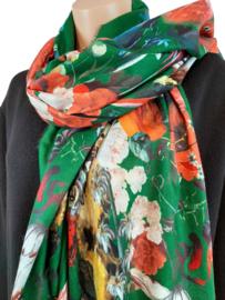 Aan 2 kanten draagbare sjaal