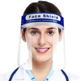 Face Shield / Spatmasker voor tandarts, kapper etc.