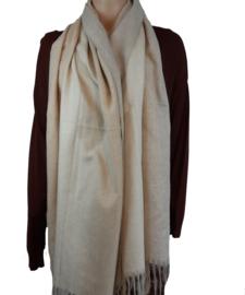 Mooie zachte beige sjaal